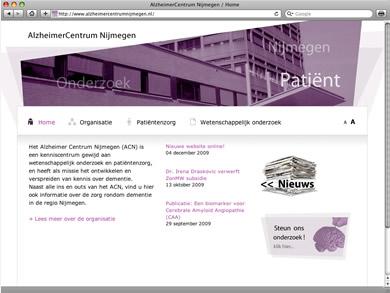 afbeelding vanAlzheimerCentrum Nijmegen