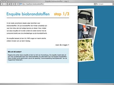 afbeelding vanEnquete biobrandstof